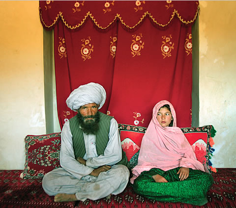 Muslim Pedophile and his Victim, his Child Bride