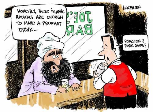 Some Muhammad cartoons - Democratic Underground