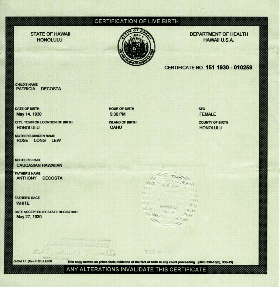 Is Obama's Birth Certificate a Forgery? | Doctor Bulldog ...