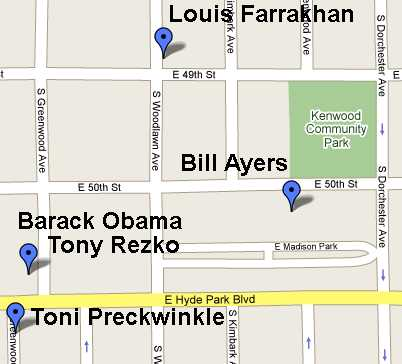 Image result for Farrakhan Obama neighborhood