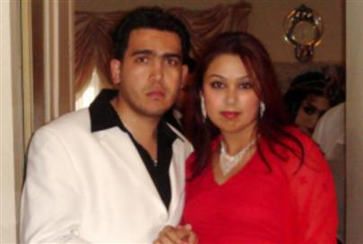 20-year-old Khatera Sadiqi and her fiance, Feroz Mangal, 23