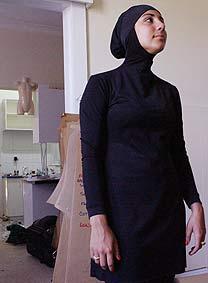 Stock Photo of a burquini