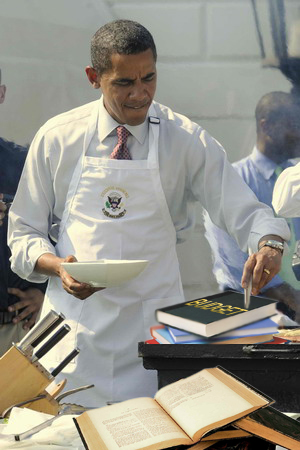 cooking the books obama