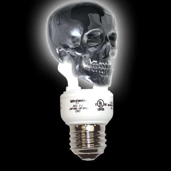 "study: CFL ""green"" bulbs cause cancer"
