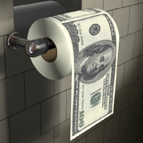 Federal Reserve, will control every piece of mortgaged real estate in the U.S I-use-taxpayer-money-for-my-toiletpaper