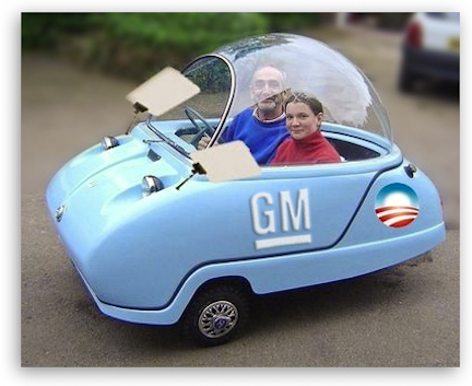 Obama's Government Motors Limo