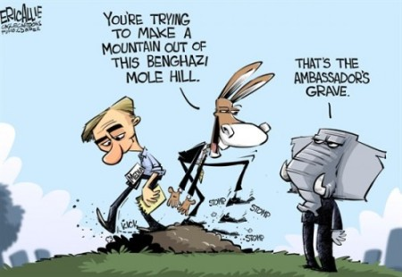 Benghazi Grave Mole Hill
