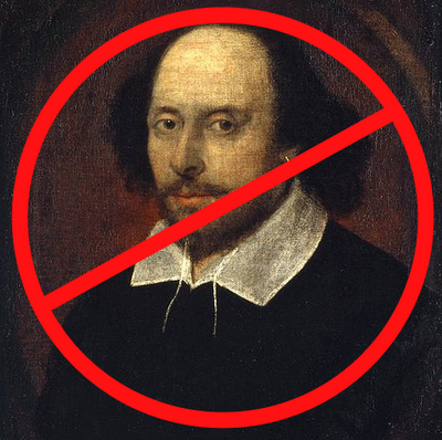 No Shakespeare