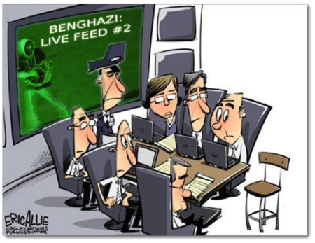 Benghazi empty chair