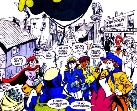 dc green team issue 1 panel 2