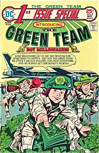 DC green team issue 1