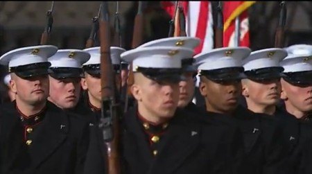 Marines force to remove bolts from guns for Obamas inauguration