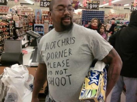 please dont shoot not chris dorner2