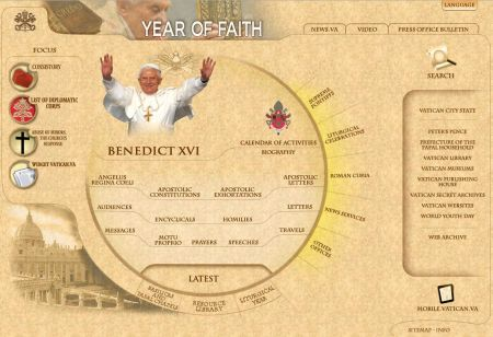 Vatican Website Crescent